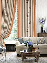Комплект штор ТомДом Куфон (персик) комплект штор haft цвет стальной высота 250 см 28890 250