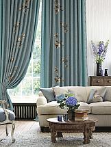 Комплект штор ТомДом Куфон (голубой) комплект штор haft цвет стальной высота 250 см 28890 250