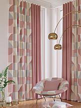 Комплект штор ТомДом Абирон (ягодный) комплект штор томдом клайси ягодный