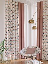Комплект штор ТомДом Претис (ягодный) комплект штор томдом клайси ягодный