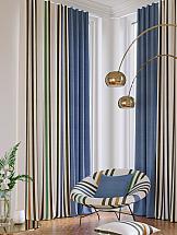 Комплект штор ТомДом Элонар (синий) комплект штор томдом элонар коричневый