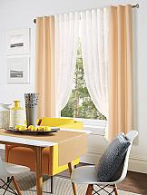 Комплект штор ТомДом Гренли (молочно-персиковый) комплект штор тд текстиль шик на ленте цвет оранжевый высота 180 см 92528
