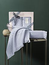Комплект полотенец ТомДом Тирбионта (светло-серый) набор банных полотенец aquarelle весна 720619 темно синий светло желтый 50 х 90 см 2 шт