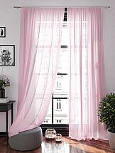 Фото - Тюль ТомДом Ларези (розовый) тюль томдом ларези черный