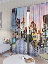 Комплект фотоштор ТомДом Немецкий городок цена