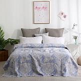 Покрывало ТомДом Рофса (синий) покрывала indibird home покрывало riviera collection ницца цвет абрикосовый 180х220 100% хлопок