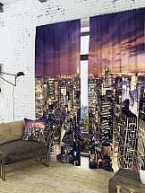 Комплект фотоштор ТомДом На пороге в ночь