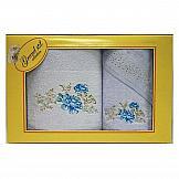 Комплект полотенец ТомДом Поблеса (голубой) комплект полотенец томдом бушфил голубой
