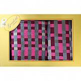 Комплект полотенец ТомДом Арнома набор кухонных полотенец meteor оливки 2 предмета 30 50 см