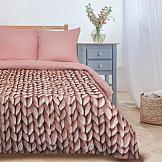 Постельное белье ТомДом Мягкие сны (розовый) комплект постельного белья tango hearts евро наволочки 50 x 70 см цвет розовый