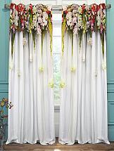 Комплект штор ТомДом Праздничные-габардин комплект штор haft цвет стальной высота 250 см 28890 250