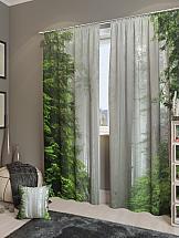Комплект фотоштор ТомДом Магический лес комплект фотоштор томдом демин
