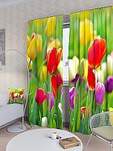Комплект фотоштор ТомДом Летние цветы комплект фотоштор томдом летние цветы