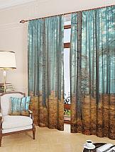 Комплект фотоштор ТомДом Таинственный лес комплект фотоштор томдом демин