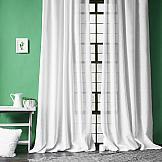Комплект штор ТомДом Фидси (белый) комплект штор aliena на ленте цвет белый высота 220 см