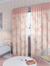 Комплект штор ТомДом Вивида-К (роз.) шторы томдом классические шторы вивида п цвет розовый