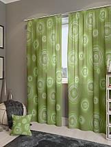 Комплект штор ТомДом Ван Гог-К (зеленый)
