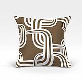 Декоративная подушка ТомДом Тонга-О (коричн.) декоративная подушка томдом тонга о синий
