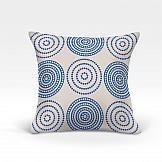 цена Декоративная подушка ТомДом Мбау-О (синий) онлайн в 2017 году
