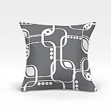 Декоративная подушка ТомДом Кларк-О (серый) декоративная подушка томдом делли о серый