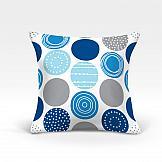 Декоративная подушка ТомДом Роули-О (синий) цена