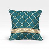Декоративная подушка ТомДом Меро-О (синий) цена