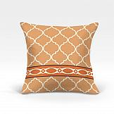 Декоративная подушка ТомДом Меро-О (оранж.)
