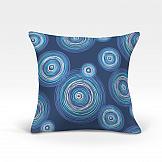 цена Декоративная подушка ТомДом Ван Гог-О (синий) онлайн в 2017 году