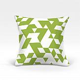 цена Декоративная подушка ТомДом Невис-О (зеленый) онлайн в 2017 году