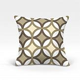 Декоративная подушка ТомДом Пеленг-О (беж.) декоративная подушка томдом подушка хиос беж