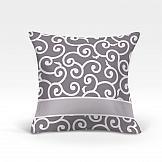 Декоративная подушка ТомДом Илвин-О (серый) декоративная подушка томдом делли о серый