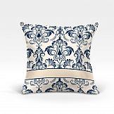 цена Декоративная подушка ТомДом Айлен-О (синий) онлайн в 2017 году